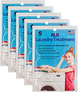 RLR Natural Powder Laundry Detergent – Whitens, Brightens, Refreshes Baby Cloth Diapers, Musty Towels, Workout Clothes - N...