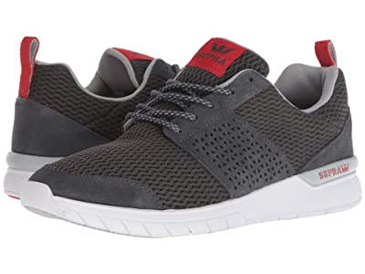 Supra Scissor (Dark Grey/Risk Red/White) Men