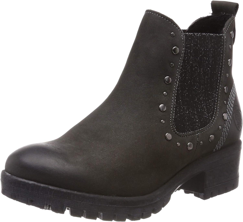schwarz Damen 264 598 Chelsea Stiefel  | Leicht zu reinigende Oberfläche  | Trendy  | Haltbarer Service