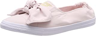 Converse Women's CTAS Knot Barely Rose Slip on Trainers, Pink