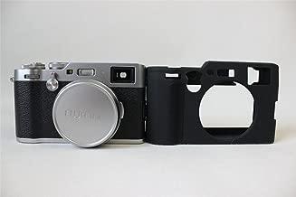 X100F Case, BolinUS Fullbody Ultra-thin Lightweight Rubber Soft Silicone Case Bag Cover for Fujifilm Fuji X100F -Black