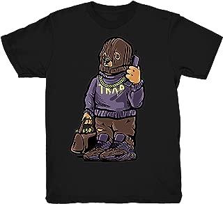 Mauve 700 Kanye Trap Bear Shirt to Match Yeezy Boost 700 Mauve Sneakers Black t-Shirts