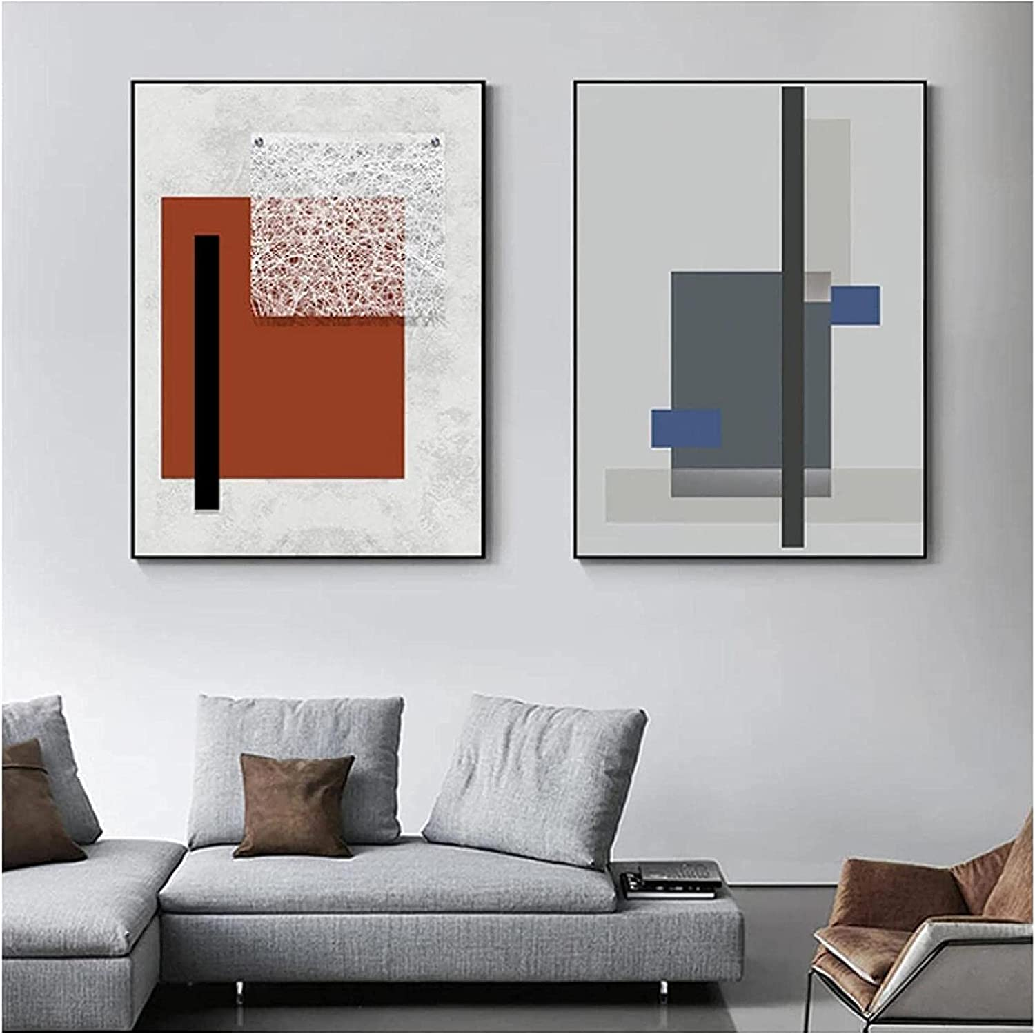 Modern painting Abstract Geometric Canv Minimalist Max 60% OFF Max 49% OFF Nordic