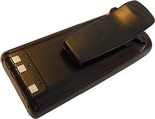 vhbw NiMH batería 2300mAh (7.2V) con Pinza para cinturón para Radio iCOM IC-A24, IC-A24E, IC-A6, IC-A6E, IC-F11, IC-F11BR ...
