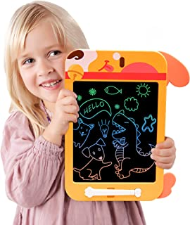 LCD Writing Tablet, 10 Inch Toddler Writing Tablet, Erasable Doodle Board, Electronic Reusable Drawing Pads, for 3+ Year Old Kids Educational and Learning Birthday Gifts
