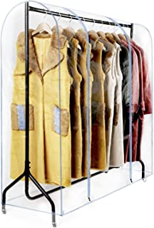 Best double clothes rack cover Reviews