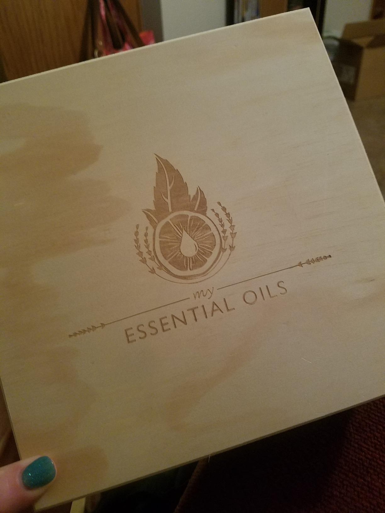 Amazon.com: Essential Oil Box - 36 Slots. Fits Tall Roller Bottles ...