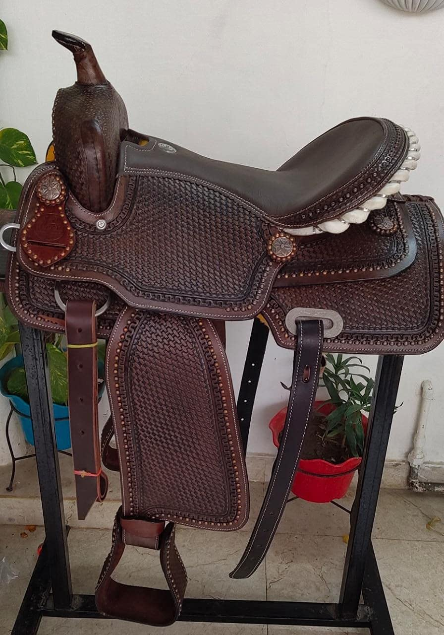 Star Trading Company Premium Leather All items in the store Racing Trail price Barrel Western