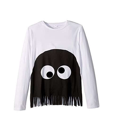 Stella McCartney Kids Bella Fringe Tee (Toddler/Little Kids/Big Kids)