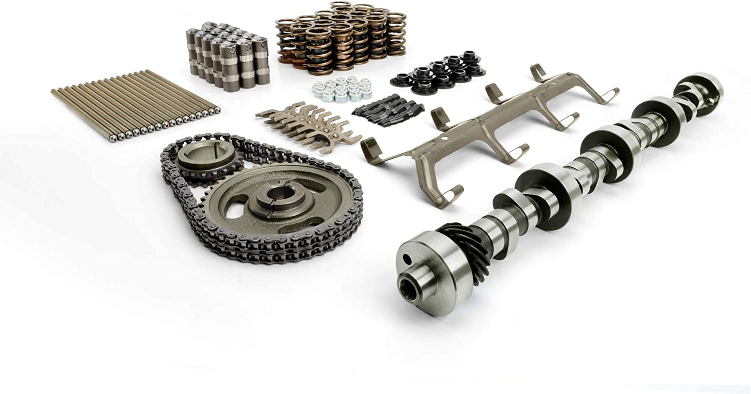 COMP Cams CL35-552-8 Nitrous HP 215//224 Hydraulic Roller Cam and Lifter Kit for Ford 5.0L