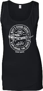 Diving School Women's Vest The Real Adventure Logo