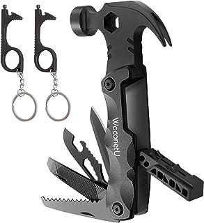 Gifts for Men Dad, WoconetU 13 in 1 Hammer Multitool Cool Gadgets for Men Grandpa Husband Boyfriend Him, Best Top Unique I...
