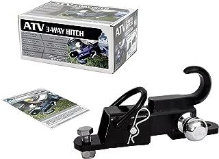 Komodo ATV ATV3WH1782 ATV 3-Way Receiver Hitch with 1-7/8