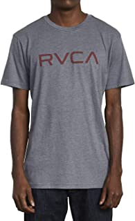 RVCA Men's Red Stitch Graphic Crew T-Shirt