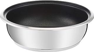 Lagostina 12143541826 Maestria - Sartén wok (26 cm, acero inoxidable, antiadherente, todas las placas de inducción)