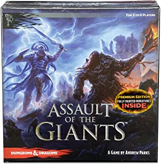 WizKids Assault of Giants Dungeons & Dragons Premium Edition Board Game - English