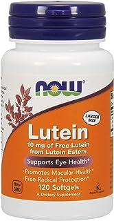 Now Supplements Now Foods Lutein Esters 10 Milligrams 120 Softgels