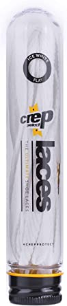 Crep Protect Mens 135cm Flat Laces White