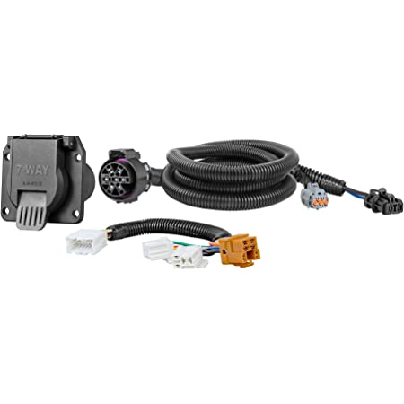 Amazon Com Tekonsha 118267 7 Way Tow Harness Wiring Package Automotive