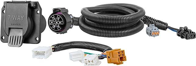 amazon.com: curt 56226 vehicle-side custom rv blade 7-pin trailer wiring  harness for select nissan frontier, pathfinder, xterra, suzuki equator:  automotive  amazon.com