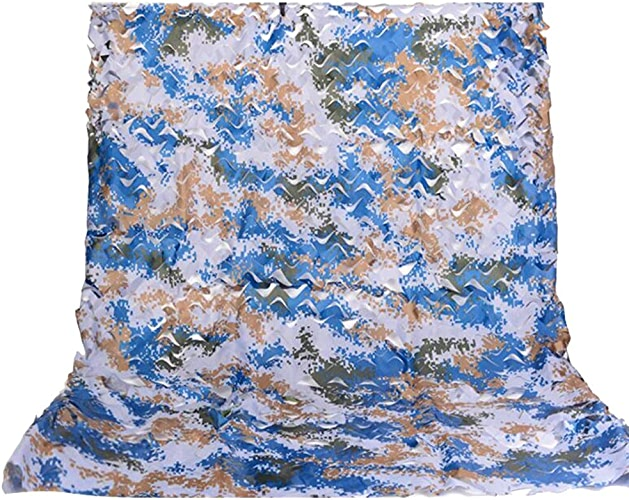 HAIZHEN Filet de décoration de camouflage durable 210D Oxford Camo fabrication de filet de décoration de piscine (Couleur   A, taille   4×8m)