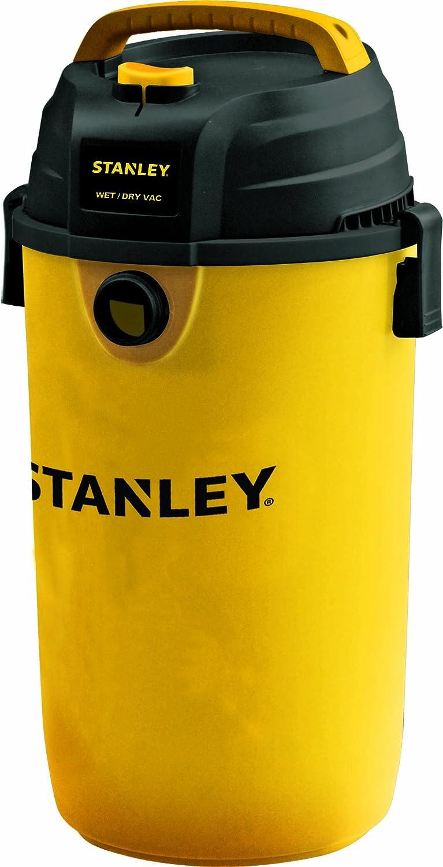 Stanley SL18139P Wet Dry Hanging Vacuum, 4 Horsepower, 4.5 gallon, Yellow