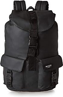 Nicce CARNI001 Drawstring Flap Backpack for Men - Black