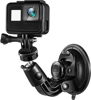 Ventosa Montaggio Aspirazione Fotocamera Montaggio Compatibile con GoPro Hero 6/5/4/3/2/1, 1/4-20 Filo Heavy Duty Pieno Ro...
