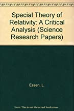 Special Theory of Relativity: A Critical Analysis (Science Research Papers)