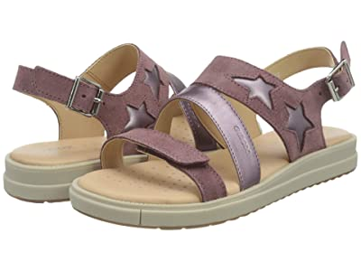 Geox Kids Sandal Rebecca 1 (Little Kid/Big Kid) (Medium Pink) Girl