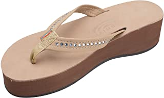 Women's Six Layer Leather Wedge - 3/4