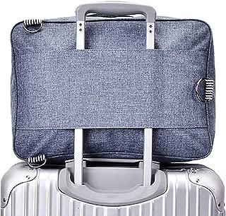 RomWell Travel Duffel Bag Waterproof Lightweight Portable Luggage Bag (snow Blue)