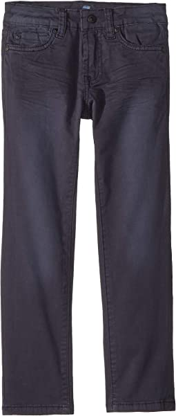 Slimmy Stretch Twill Jeans in Navy (Little Kids/Big Kids)