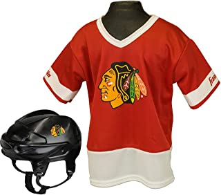 Franklin Sports Inc. Boys' Nhl Chicago Blackhawks Uniform Set