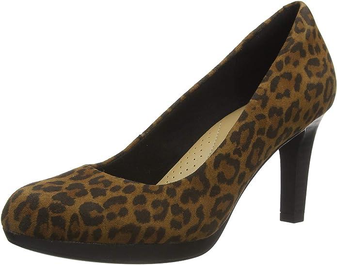 TALLA 39.5 EU. Clarks Adriel Viola, Zapatos de Vestir par Uniforme Mujer