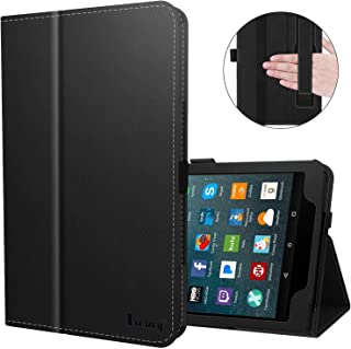 Benazcap for Kindle Fire 7 Case 2019 All-New Fire 7 Tablet Case Folio Stand Smart Cover for Amazon Kindle Fire 7-inch Tablet 9th Generation 2019 with Auto Sleep/Wake, Black
