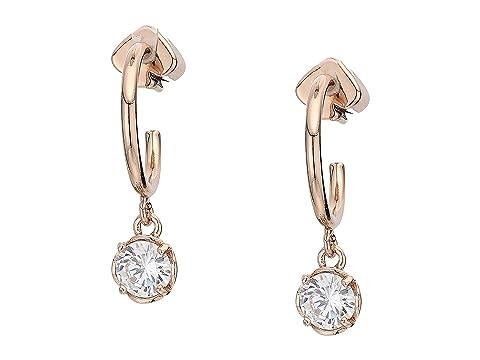 Kate Spade New York That Sparkle Mini Round Huggies Earrings