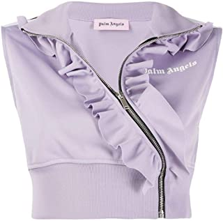 PALM ANGELS Luxury Fashion Womens PWBD012E193840022501 Purple Top | Fall Winter 19