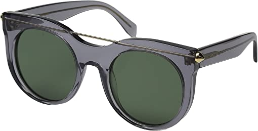Transparent Grey/Green