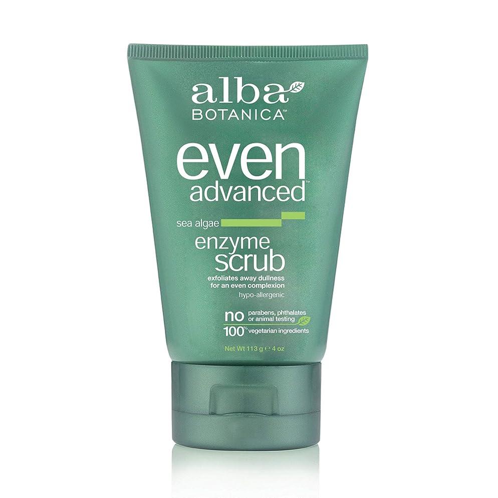 Alba Botanica Even Advanced Sea Algae Enzyme Scrub, 4 oz.