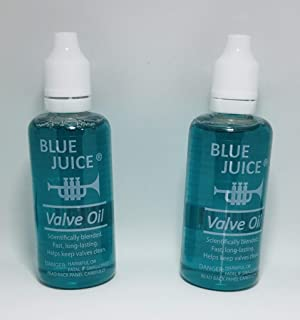 Blue Juice 2 Fluid Oz. Trumpet Valve Oil 2 Pack