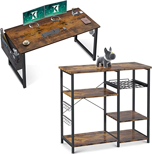 high quality ODK wholesale Office Writing Desk online and Storage Coffee Bar Stand online