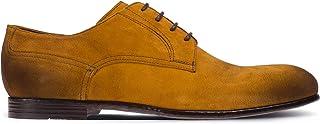 Deery Hakiki Süet Hardal Rengi Günlük Erkek Ayakkabı - 01294MSRIC01