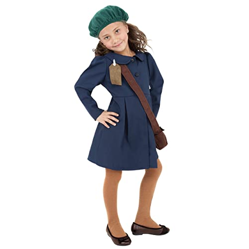 c2146c381f85 Smiffys World War II Evacuee Girl Costume