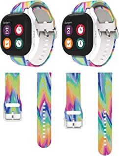 Compatible for Gizmo 2/1 Watch Band, Kids Repalcement Band for Gizmo Watch Band Replacement, Colorful - 2Packs