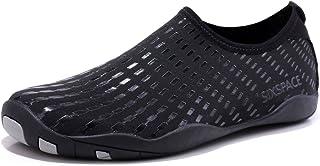 Sixspace Chaussures Aquatiques Homme Femme Chaussures d'eau Chaussures de Plage Respirant Chaussures de Natation Plongée S...