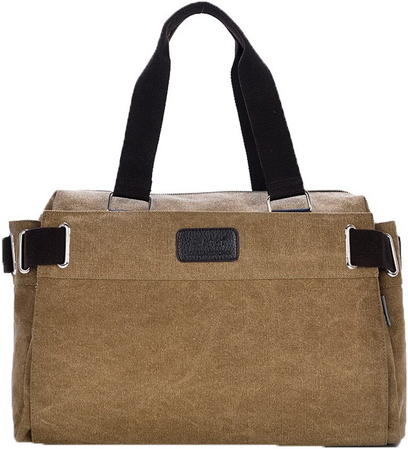 WeiPoot Women's Fashion Canvas Casual SatchelStyle Shoulder Bags, EGHBH181188