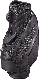 タイトリスト(TITLEIST) キャディーバッグ CB991 シンプルアスリート メンズ CB991-BK ブラック 重さ:2.8kg クラブの長さ対応:47インチ