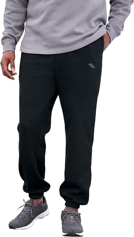 KingSize KS Sport Men's Big & Tall Wicking Fleece Elastic Cuff Pants