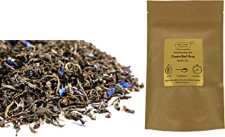 Beantown Tea & Spices - Cream Earl Grey. Premium Loose Leaf Black Tea. 100% Natural. (4 Ounces)